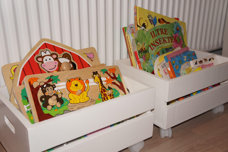 Diys Leget Jsopbevaring Tr Kasser Toys Storage