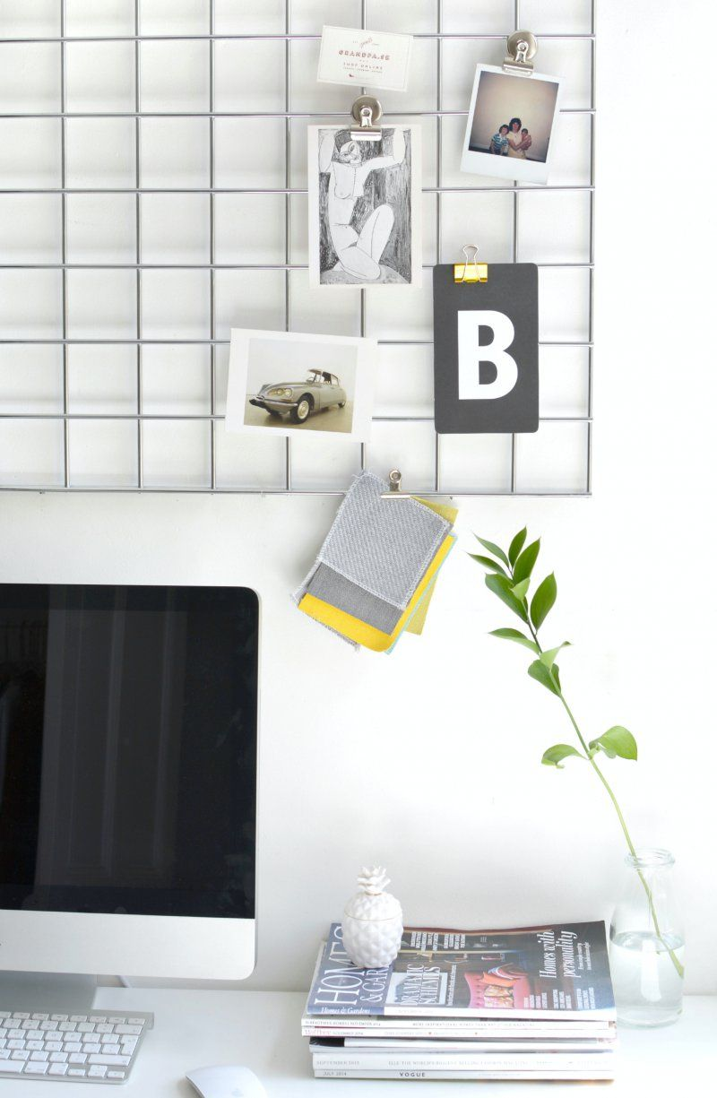 DIY home office memo board | Pinterest | Board, Office designs and Desks