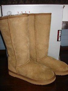 2754916d208 Love my Costco's brand Kirkland sheepskin boots. seriously as good ...