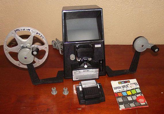 Vintage Vernon Dual 8 Movie Editor | 8mm and 16mm Movie
