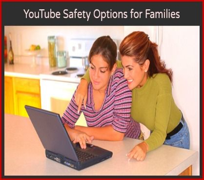YouTube is a great resource. Here are some YouTube safety options you can  take for