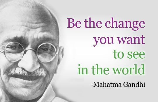 Ghandi Quote Impressive 48 Most Inspiring Quotes From Mahatma Gandhi Quote Pinterest