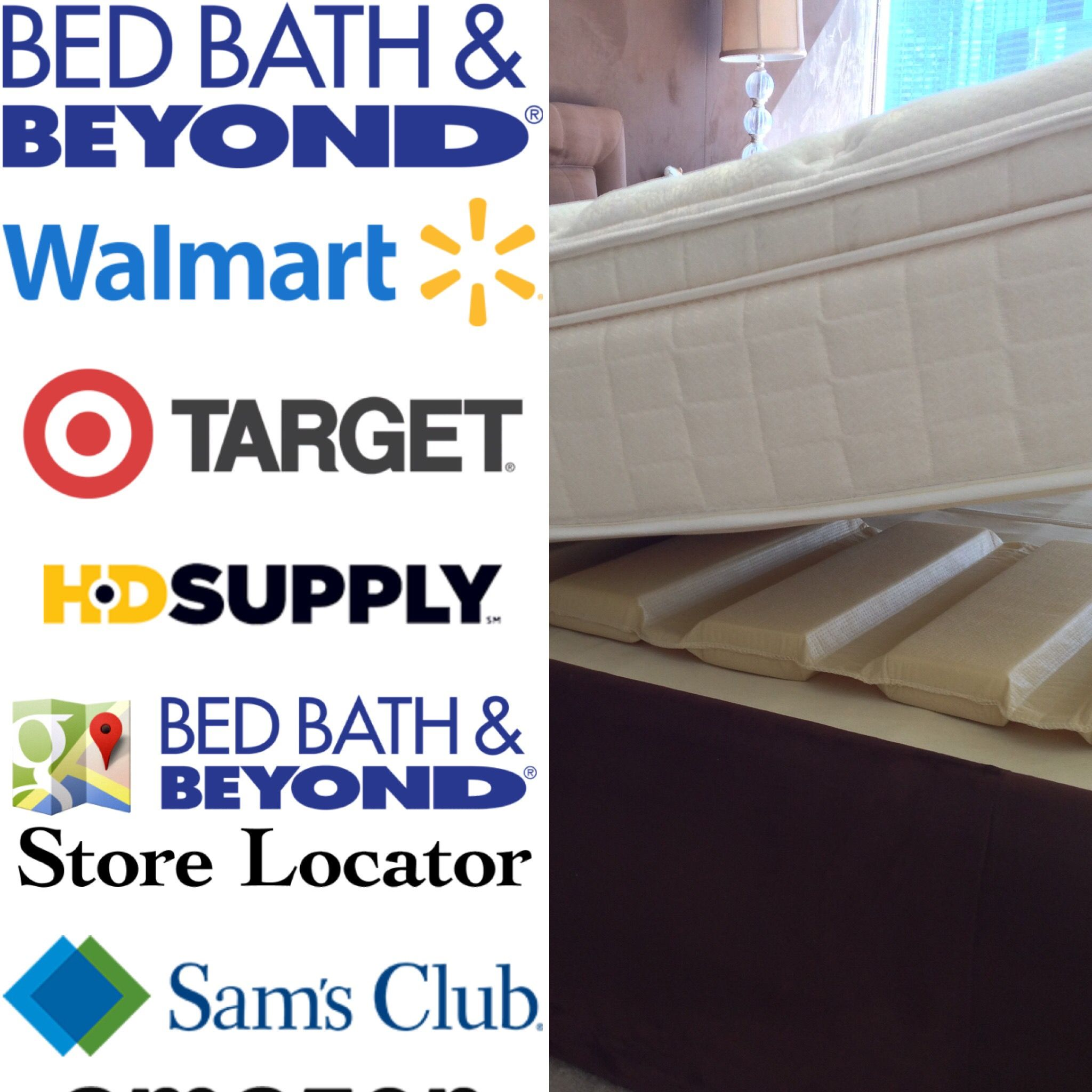 Sold everywhere Bed bath and beyond, Bed & bath, Walmart
