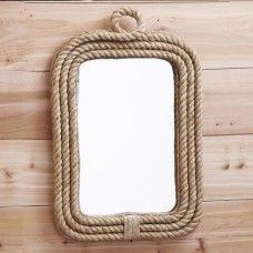 Sea Star Jute Wall Mirror BathroomWall MirrorsBathroom Ideas Nautical