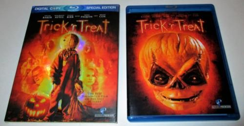 TRICK 'R TREAT (2007) Special Slipcased Blu-Ray ANNA PAQUIN Halloween 2009 RARE https://t.co/6RvjI1r58L https://t.co/htZYKYRYbv