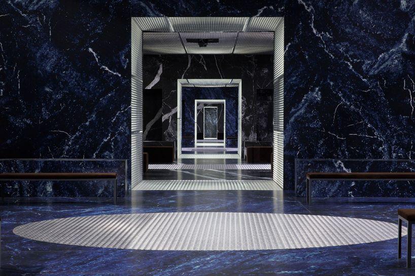 OMA AMO creates infinite palace for prada men s A W show in milan 6e24ec6f84