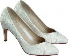Ivory Lace Wedding Shoes Rainbow Club Melanie Bridal Shoes