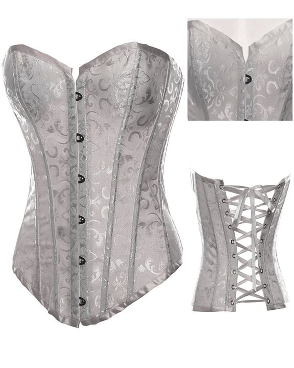 corset sexy costumes wedding dress lace of gothic steel boned  corsets and bustiers of lingerie tops for women plus size 2340B-in Apparel  Accessories on Aliexpress.com