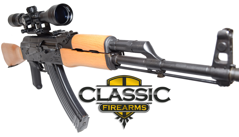 Romanian WASR 10 AK 47  Rifle w  Wood Stock and Forearm. Romanian WASR 10 AK 47  Rifle w  Wood Stock and Forearm  45 Degree
