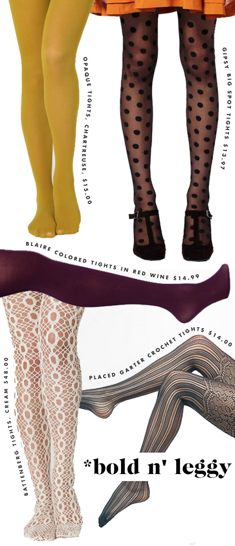 Totally my style! I adore tights.