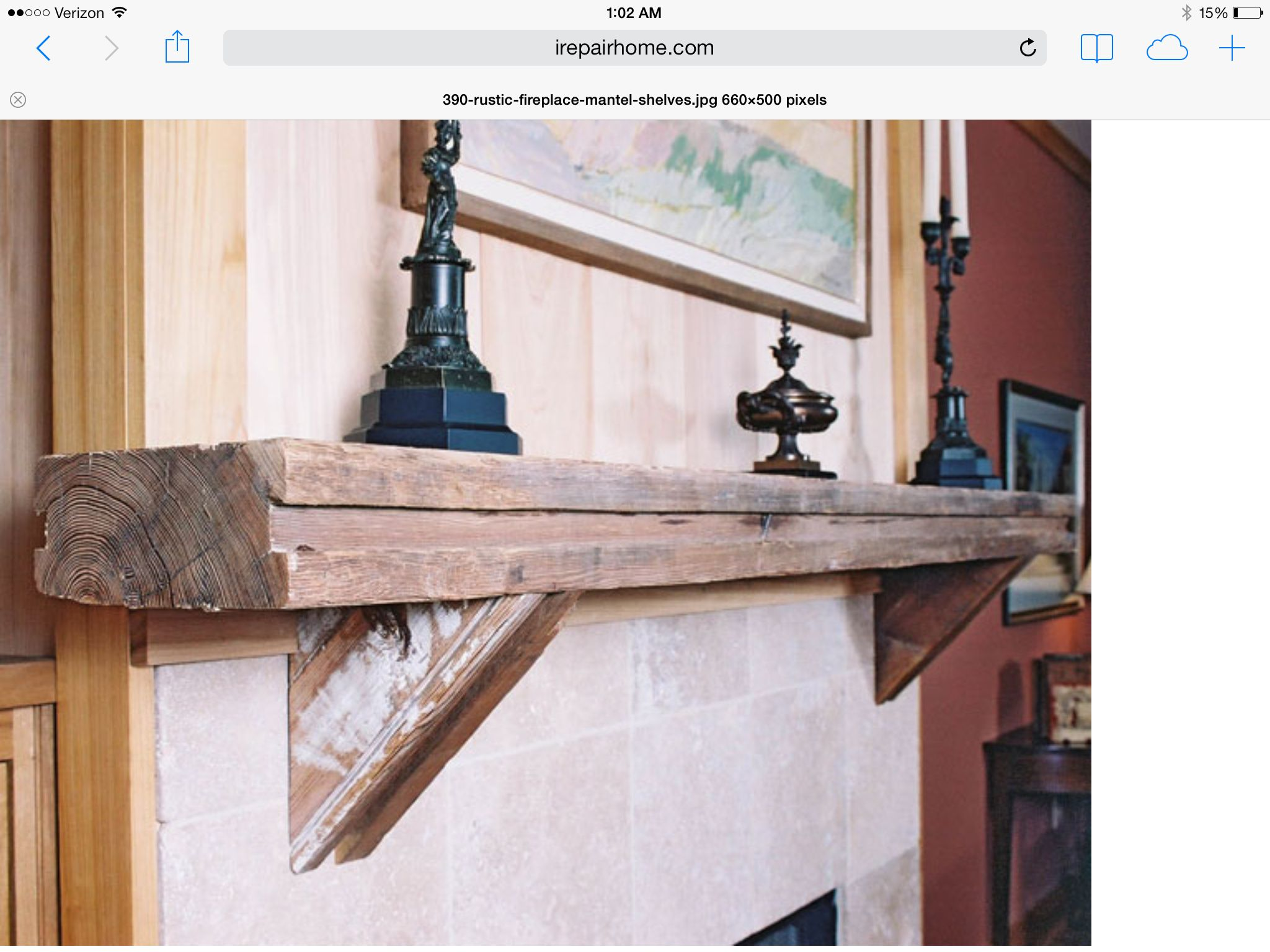 Driftwood mantle | The pergola project | Pinterest | Mantles