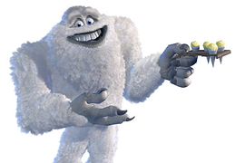 Yeti Monsters Inc Abominable Snowman Monsters Inc Monsters Inc Disney Monsters
