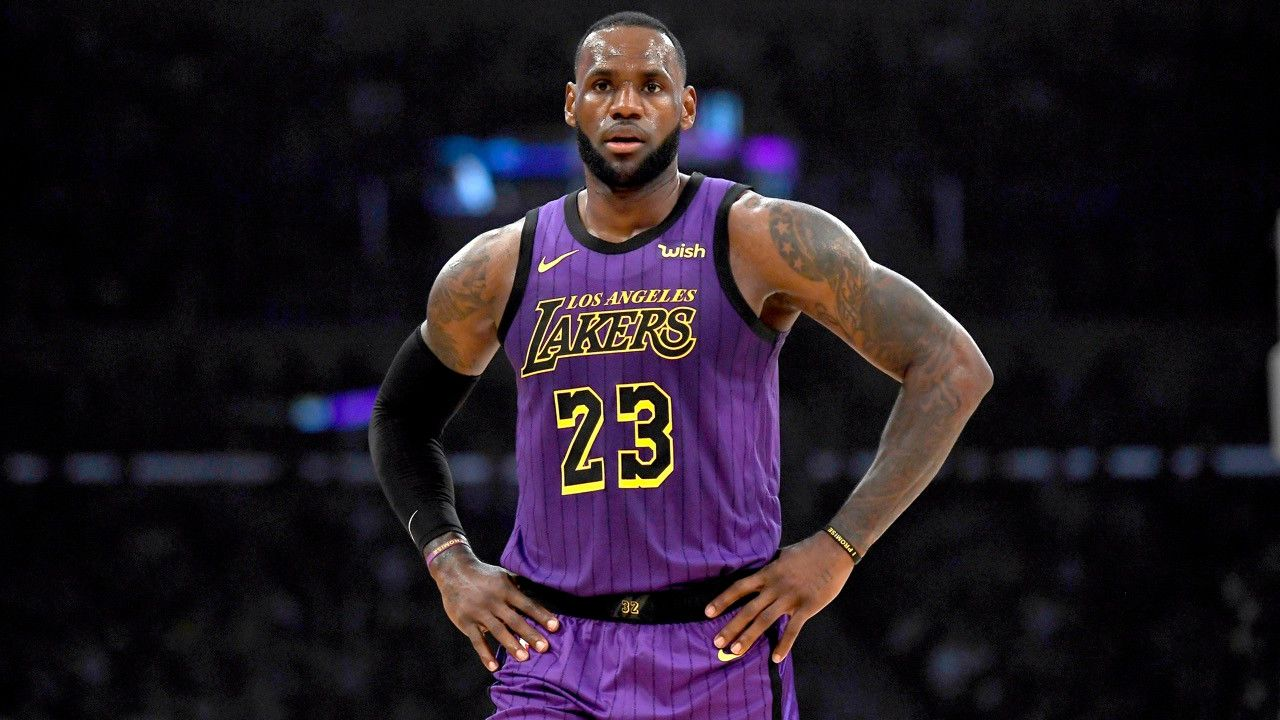 2019 Lebron James Lakers Wallpaper 1080p Lebron james