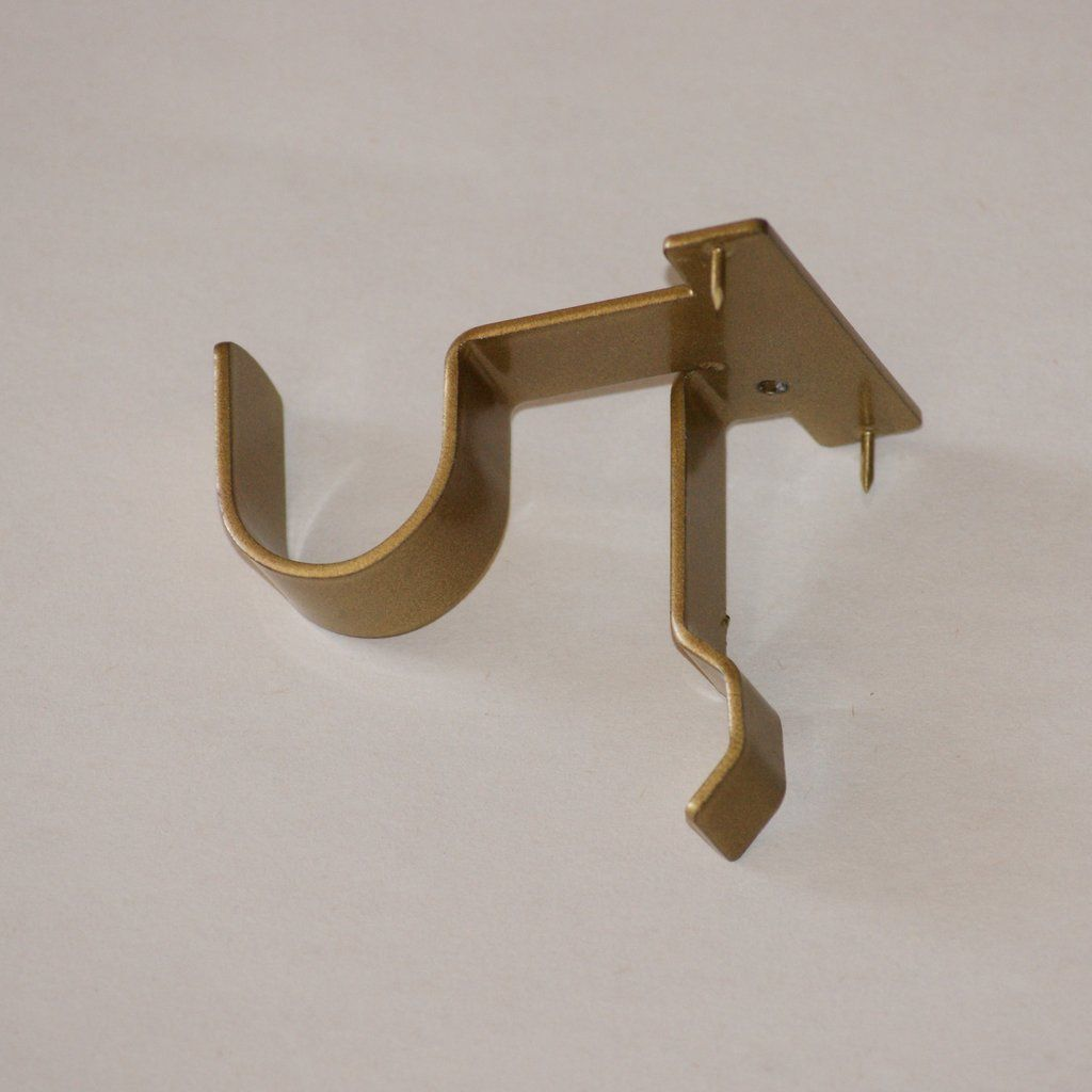 Center Support Curtain Rod Bracket Single Hanging Curtain Rods