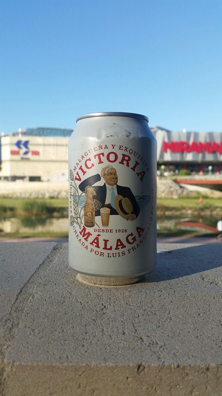Victoria Malaga Cerveza Luis