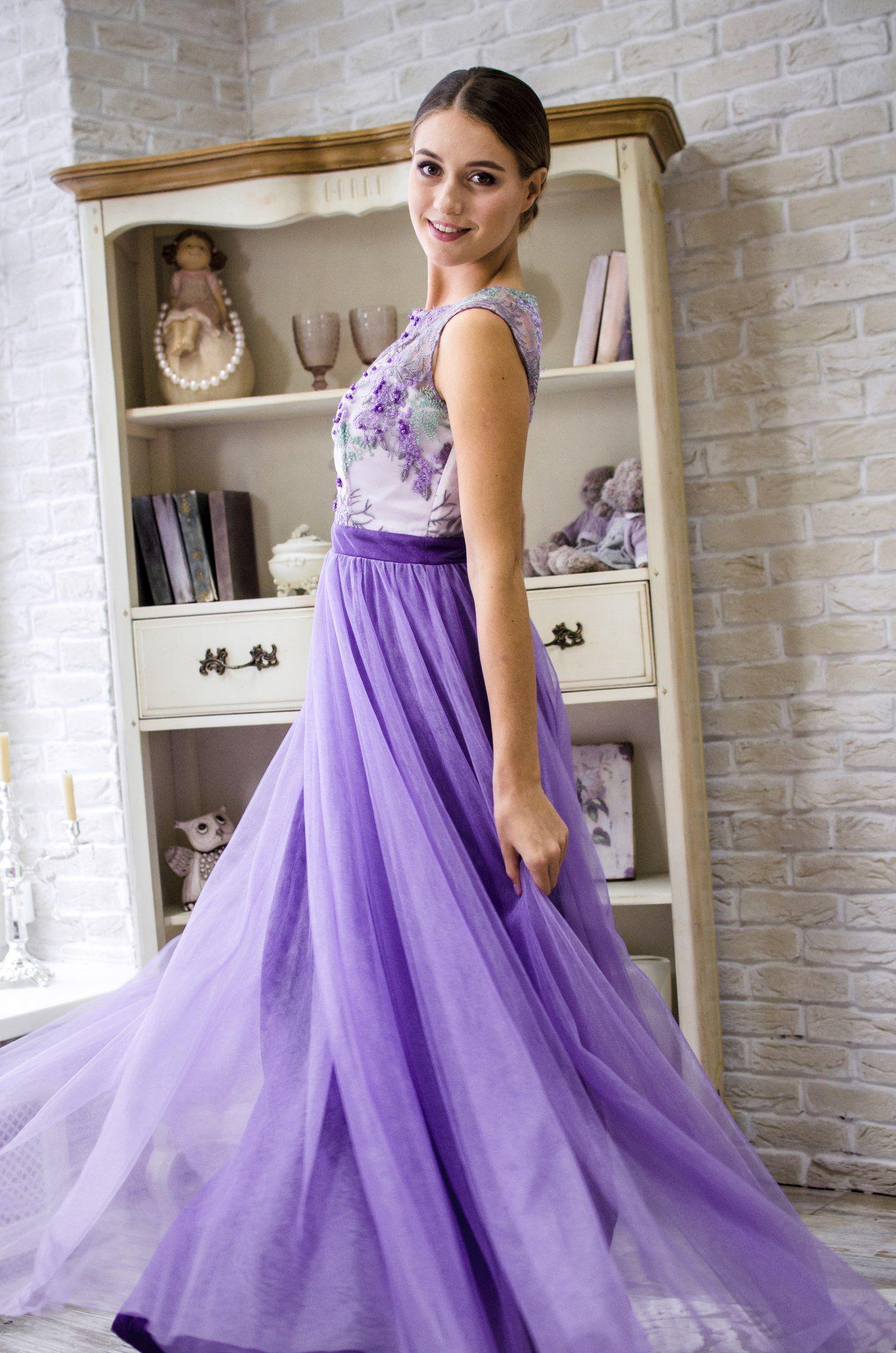 Необыкновенно нежное платье