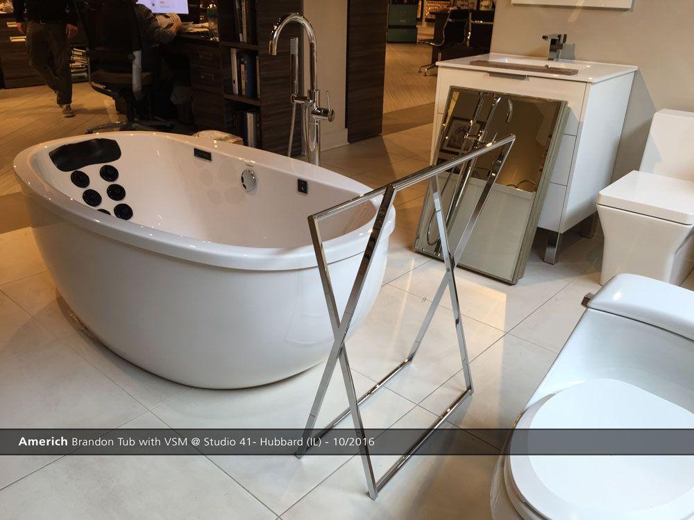 Americh Brandon Tub With Vsm Studio 41 Hubbard Il 10 2016 Bath Fixtures Kitchen Fixtures Cabinetry