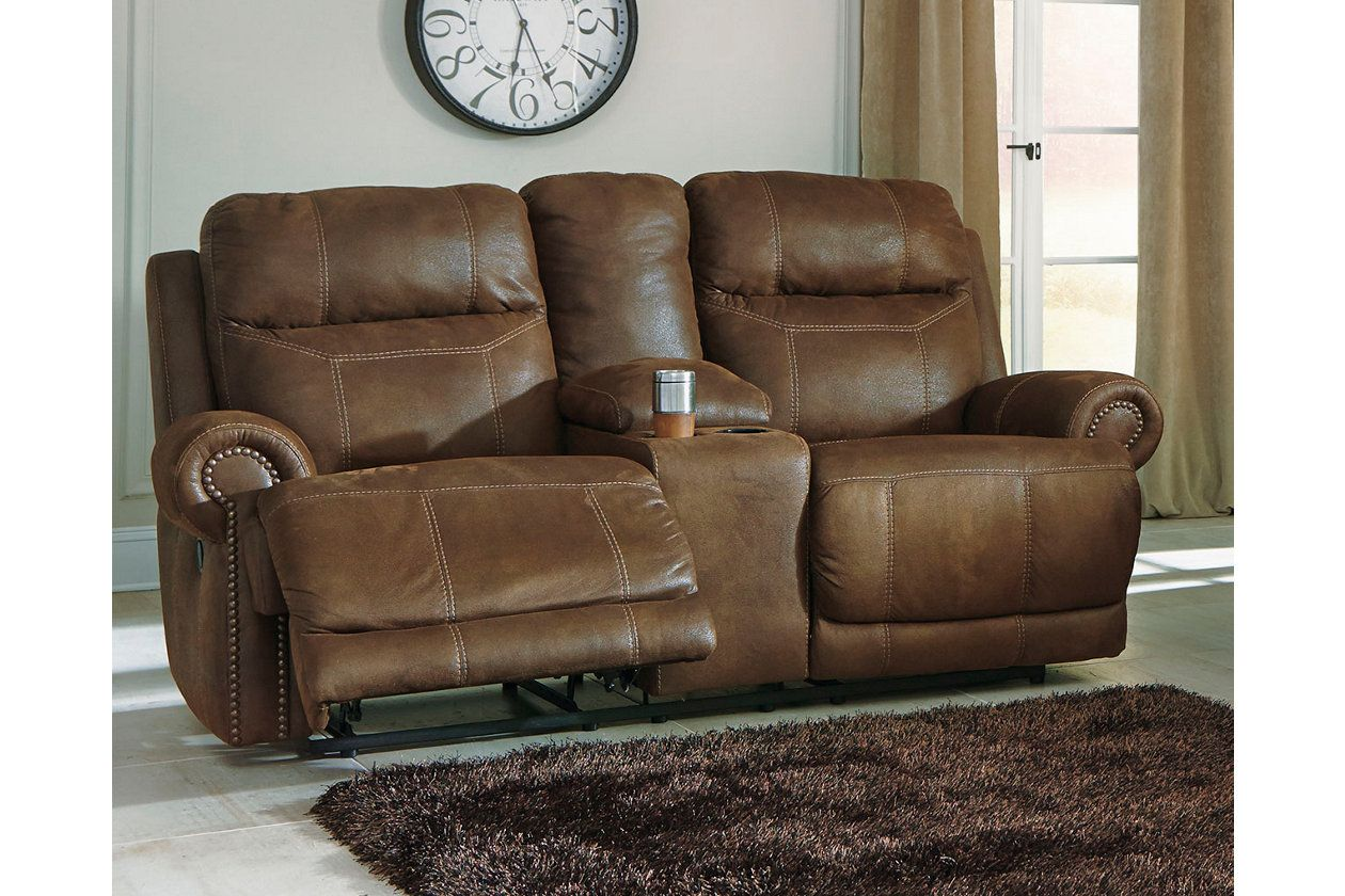 Awe Inspiring Austere Reclining Loveseat With Console Products Uwap Interior Chair Design Uwaporg