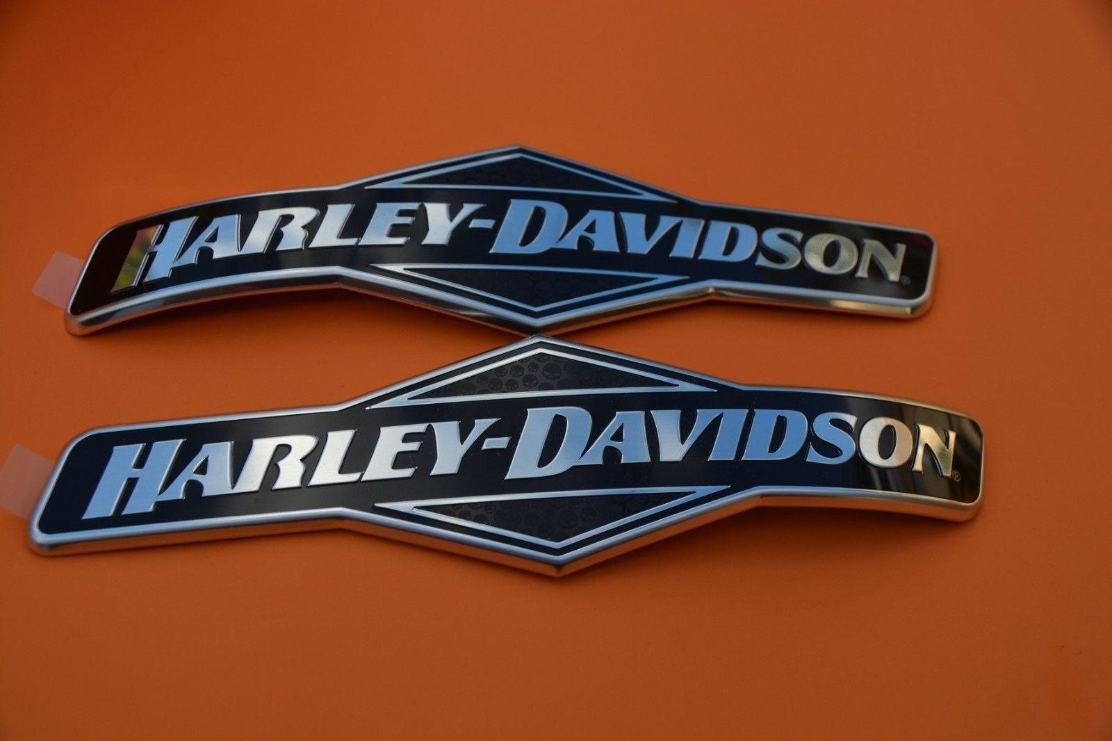 Genuine Harley Davidson Fuel Gas Tank Emblems Emblem Badges Right Left 104 95 Harley Davidson Harley Gas Tanks [ 1066 x 1600 Pixel ]