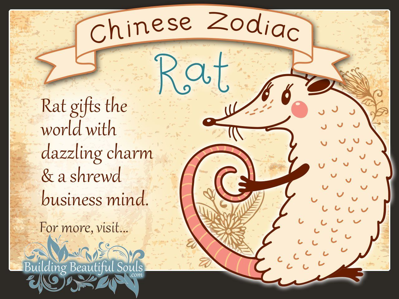 Chinese Zodiac Rat/Mouse Child Personality & Traits
