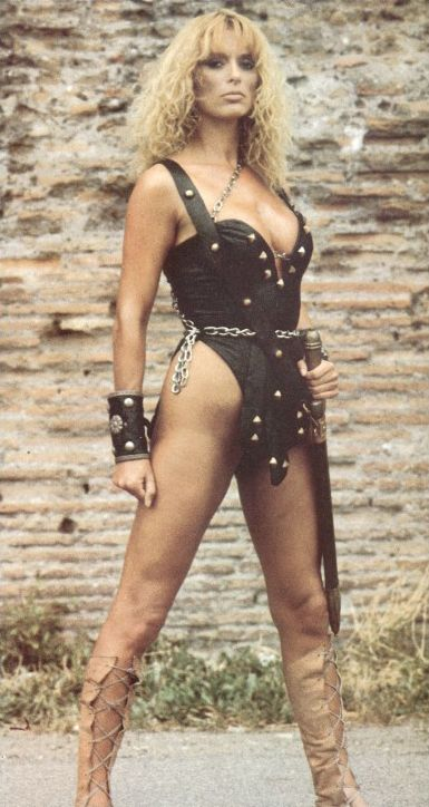 Sybil Danning - B-Movie Actress In Sci-Fi Movieswarrior -4221