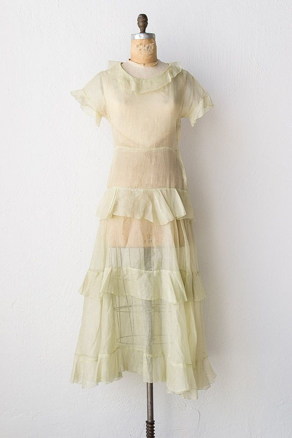 vintage 1930s party dress | 30s dress | Governor's Island Dress