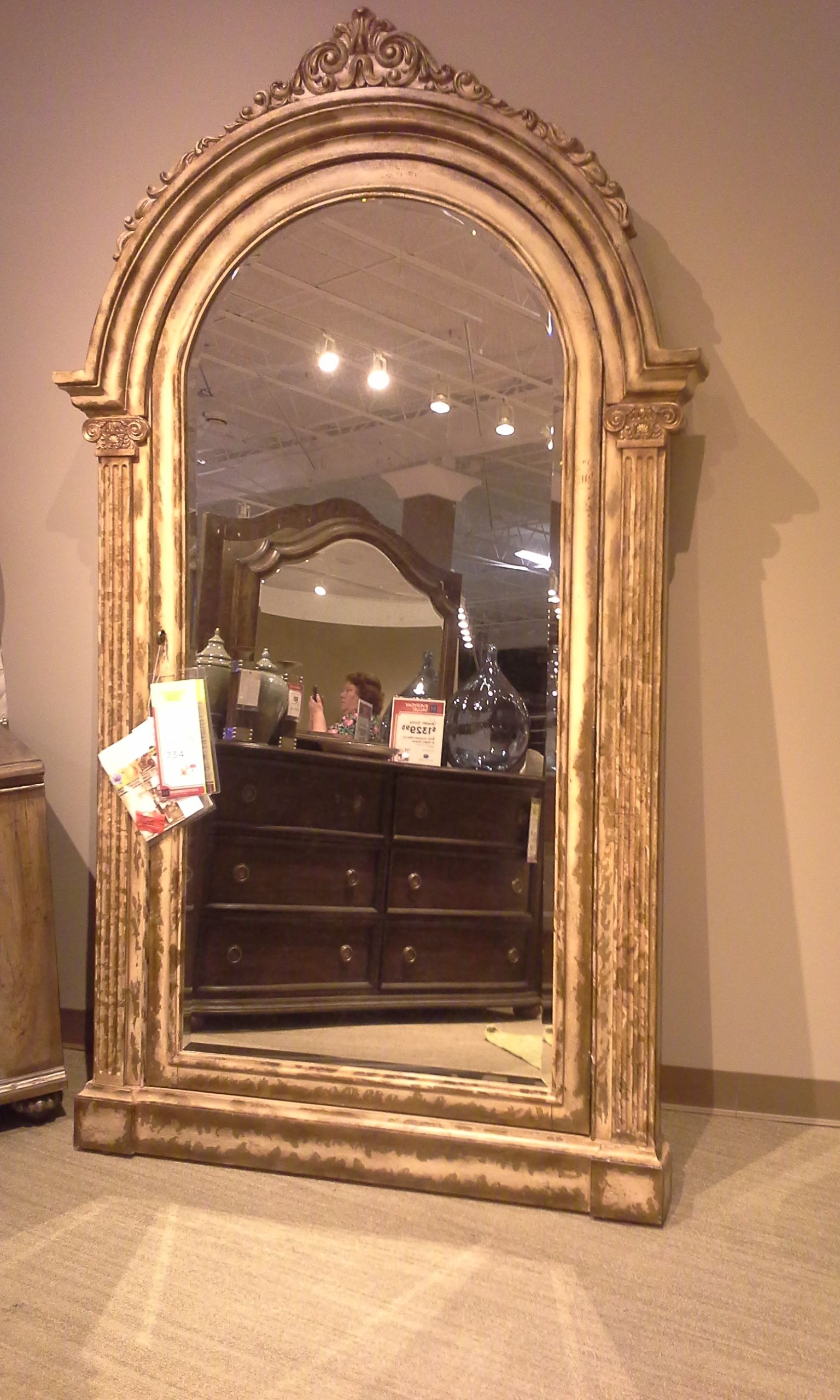 Hooker Vera Floor Mirror With A Fun Little Secret (see Next Photo). Custom  Order At Mathis Brothers Furniture In Tulsa, OK. Please Ask For Dessie