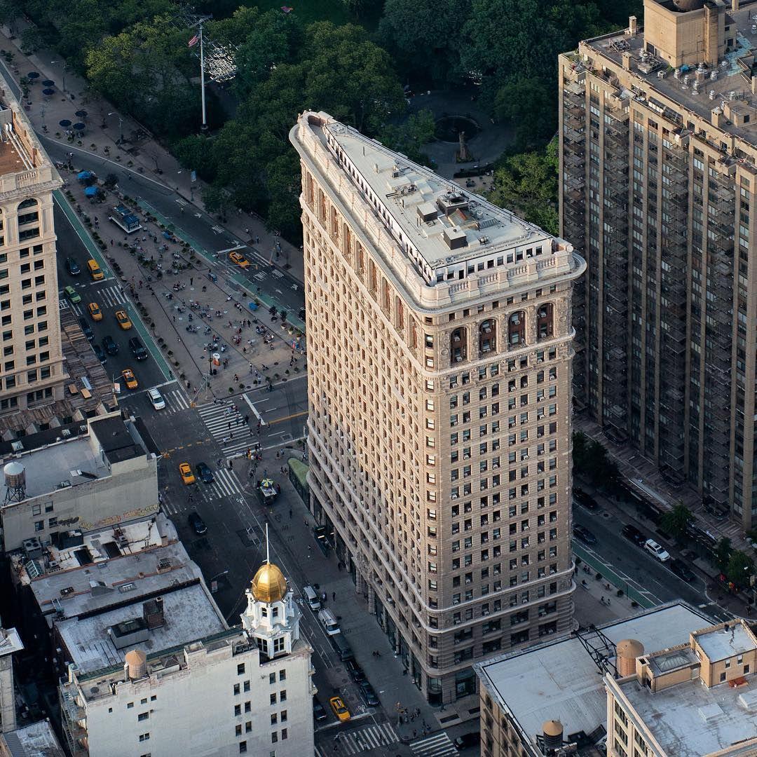 """""""@paulganun 's Shot Of NY's Flatiron Building"""