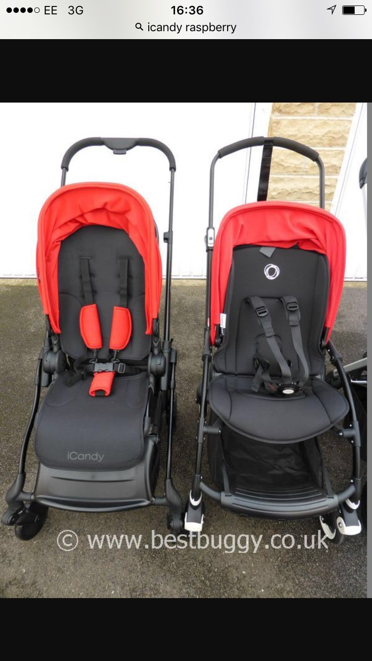 iCandy Raspberry vs Bugaboo Bee #choices