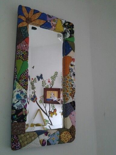 Espejo decorado