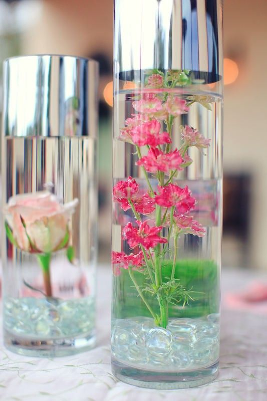 Strange Diy Project Submerged Underwater Flower Centerpieces Home Interior And Landscaping Transignezvosmurscom