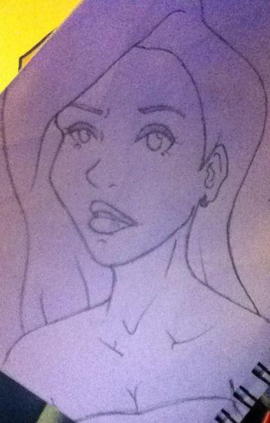 I doodle Jessica Rabbit a lot
