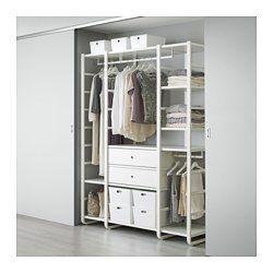 elvarli 2 elemente wei pinterest begehbarer kleiderschrank g nstig kleiderschrank g nstig. Black Bedroom Furniture Sets. Home Design Ideas