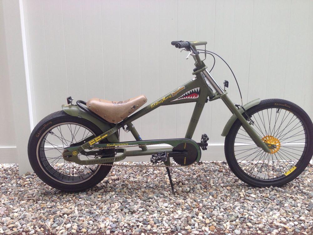 34e76883ee4 Rare schwinn stingray squadron chopper | Chopper bike | Chopper bike ...