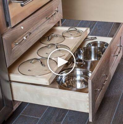 23 ingeniosas formas de organizar los gabinetes de cocina ARA HOME armarios de cocina coc 23 ingeniosas formas de organizar los gabinetes de cocina ARA HOME armarios de c...