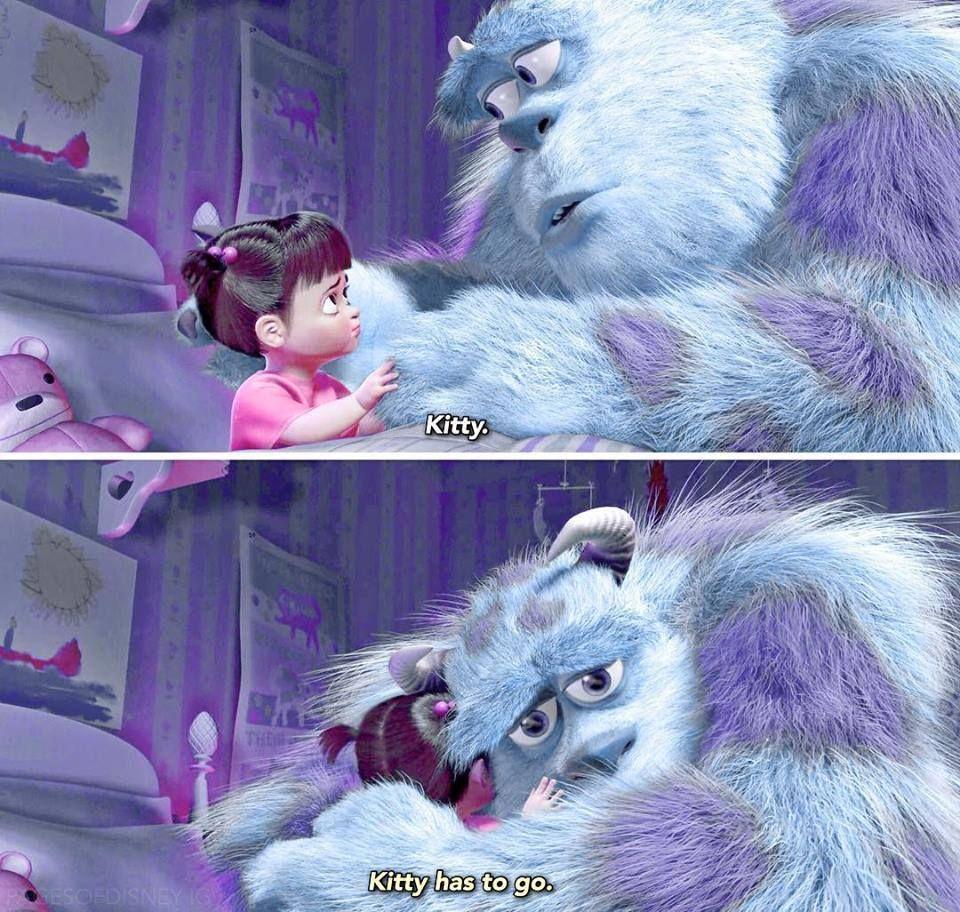 Monsters Inc Kitty Meme