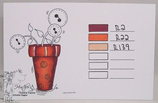 Heather's Hobbie Haven: Color Combo's - ShinHan Markers...