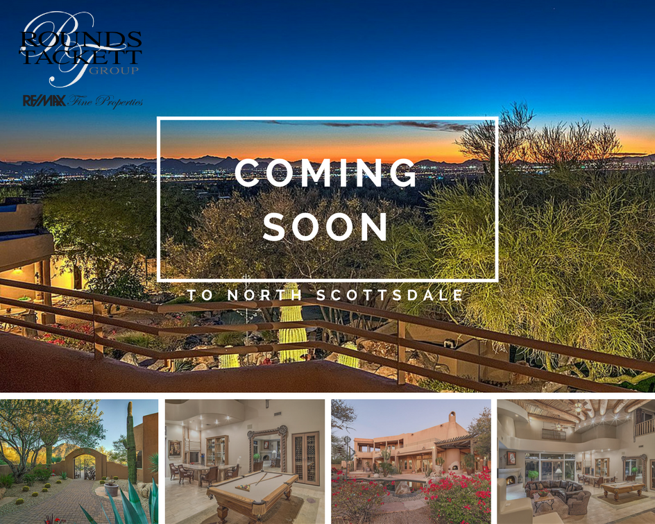 Beautiful home coming soon in North Scottsdale!  Want details now?  Reach out to use at info@livelovescottsdale.com...