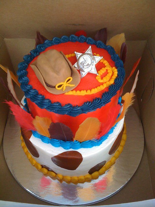 My Cowboys And Indians Birthday Cake A Party Based On One Of My