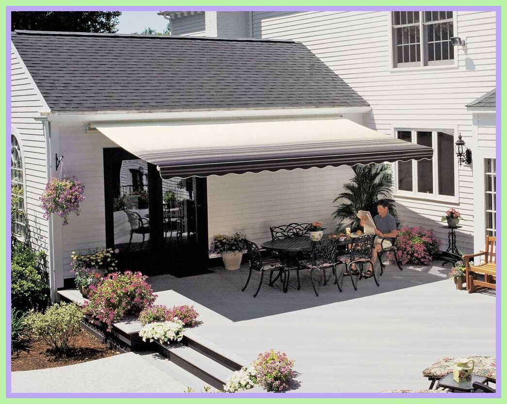 70 Reference Of Patio Shade Retractable Awning In 2020 Patio Shade Patio Patio Sun Shades