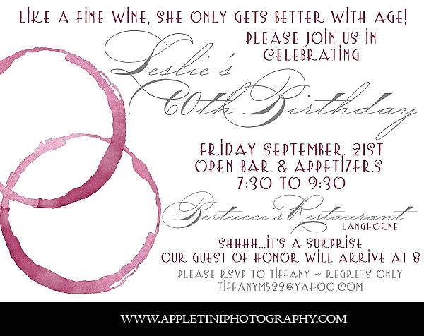 17 Best images about 60th bday – 60th Party Invitations
