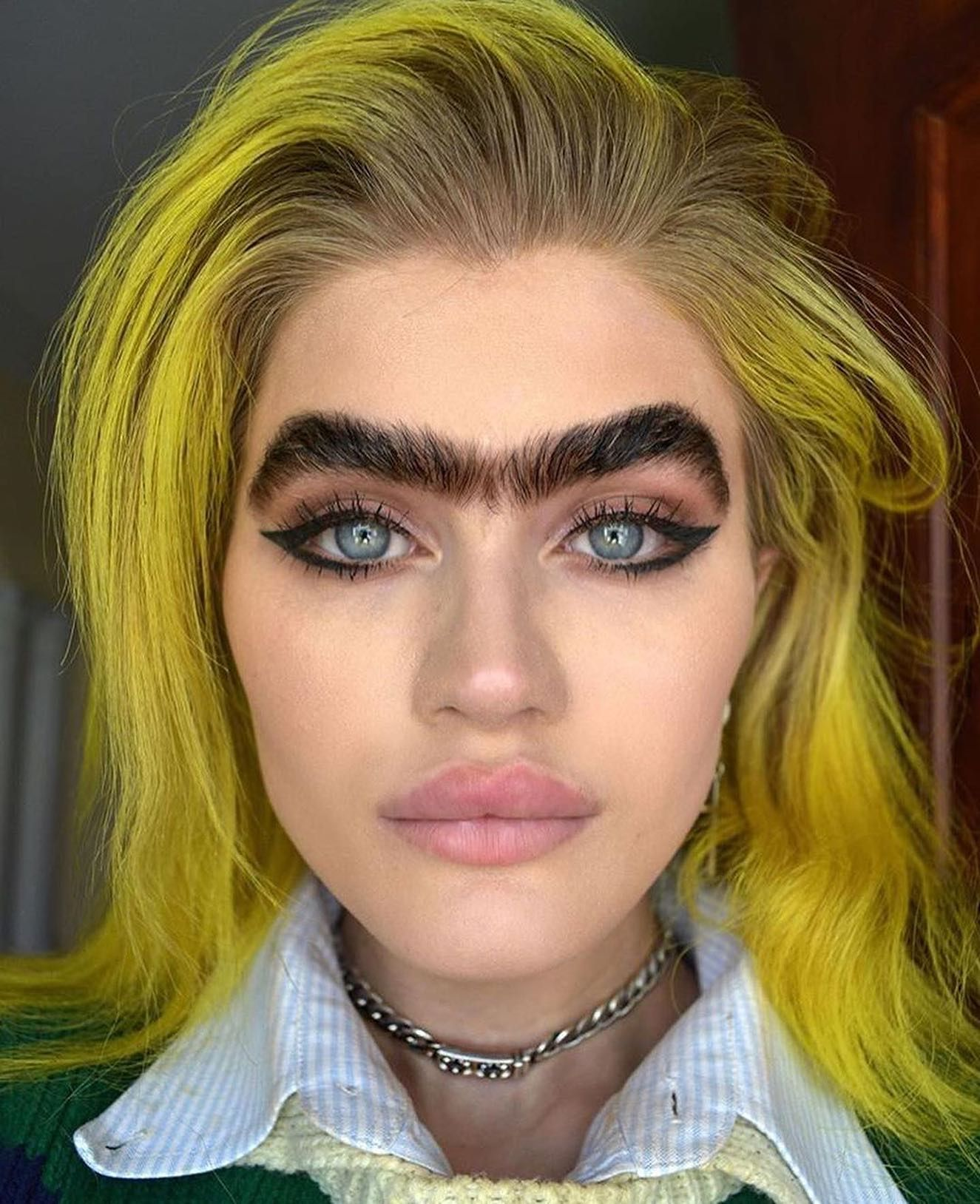 Thick Black Eyebrows Meme