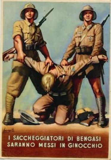 Saccheggiatori di Bengasi
