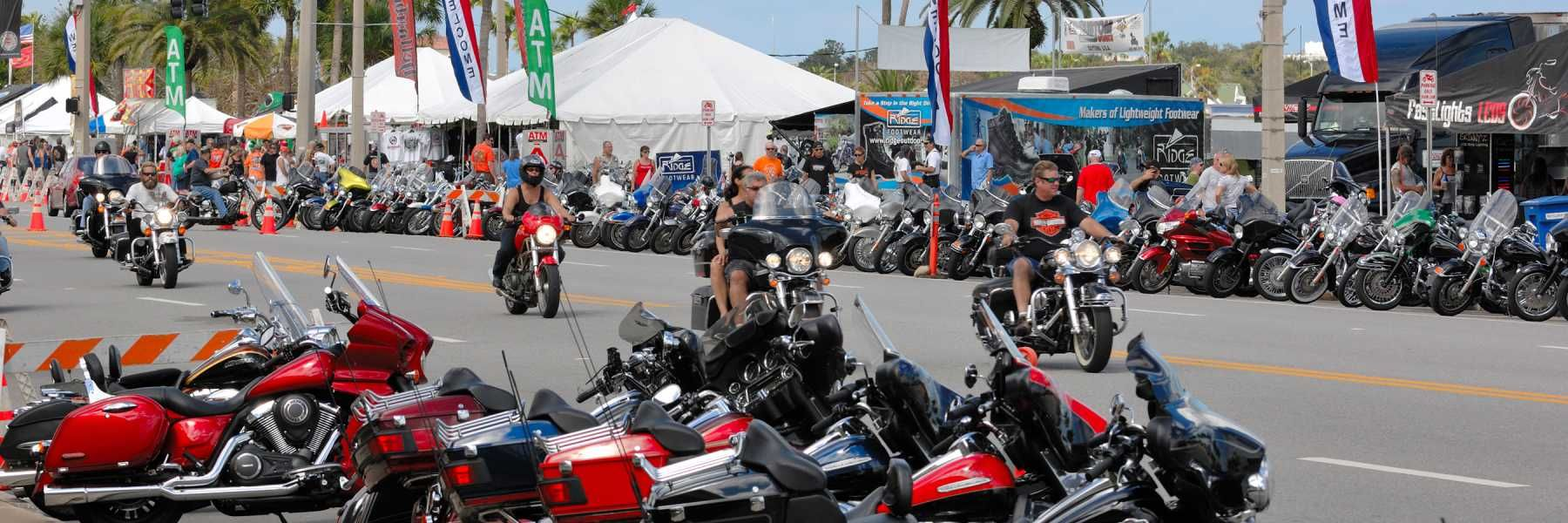 Daytona Beach Motorcycle Events