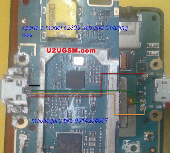 sony xperia c c2305 charging problem solution jumper ways rh pinterest com Sony Xperia U Sony Xperia Z On AT&T