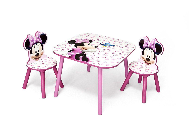 Minnie Mouse Stoel : Werbung kindertisch mit kinderstühlen im süssen minnie mouse