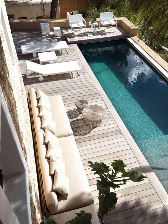 Best Pool Lounge Ideas And Design Inspiration Montenegro Stone House Renovation Vision Board In 2021 Swimming Pool Designs Indoor Pool Design Swimming Pools Backyard