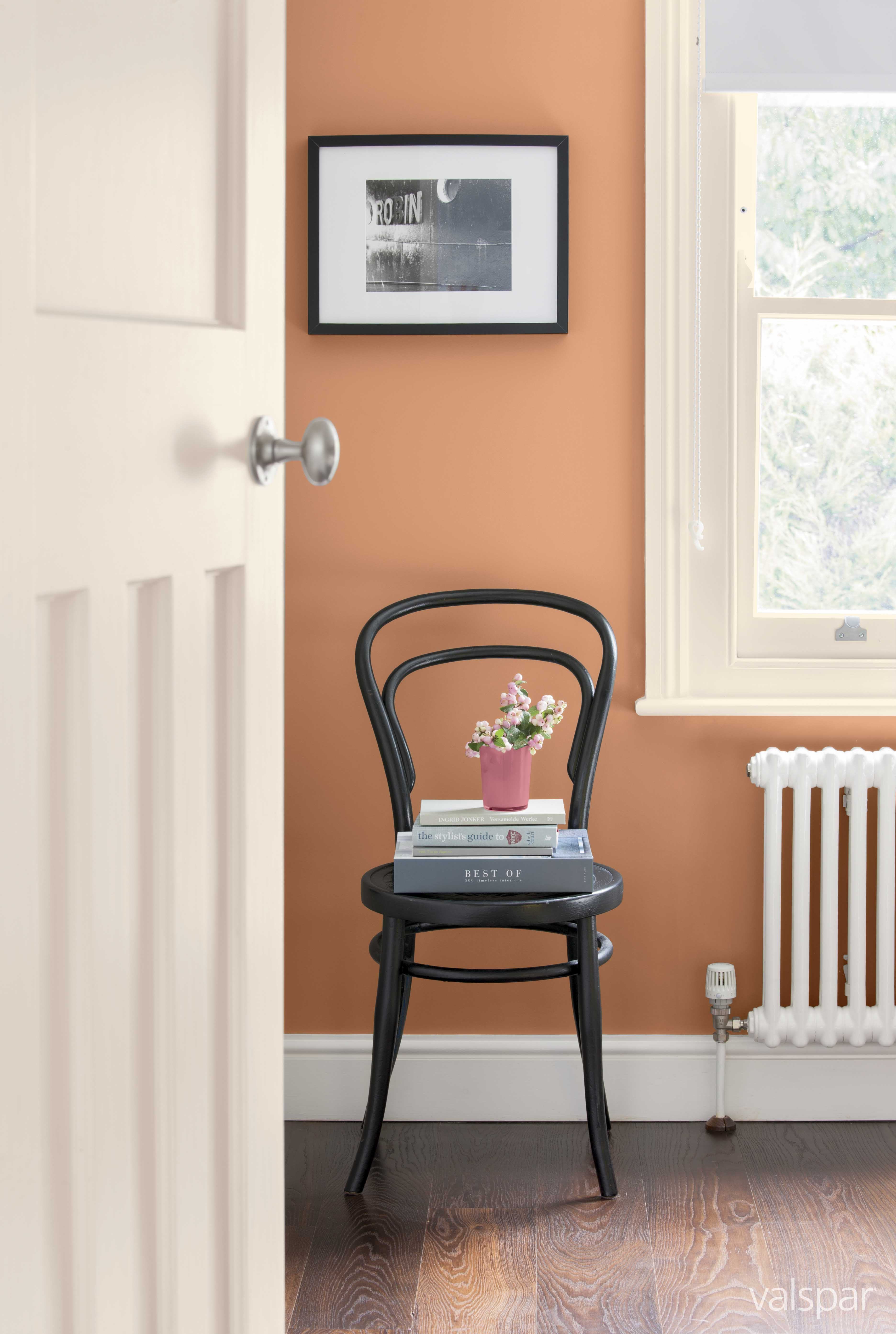 A soft #Valspar terracotta. This shade is called Lush ...