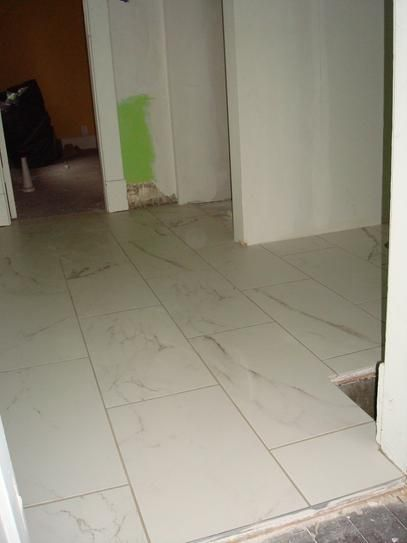 15 Floor Tile Designs For The Foyer: Marazzi Developed By Nature Calacatta 12 In. X 24 In