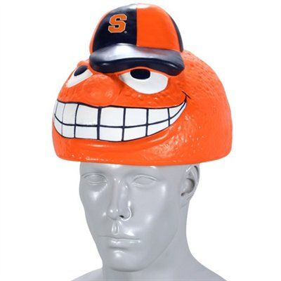 Otto the Orange foam hat...youu0027re all getting one for Christmas. #Syracuse  sc 1 st  Pinterest & Syracuse Orange Foamhead Hat | Syracuse | Pinterest